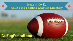Adult Flag Football Leagues Near Me