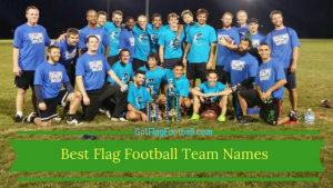 Flag Football Team Names: Good. Funny. Best of 2018