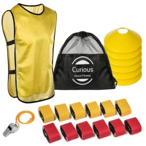 Flag Football Set and Referee Kit 12 Player by Curious About Fitness Review
