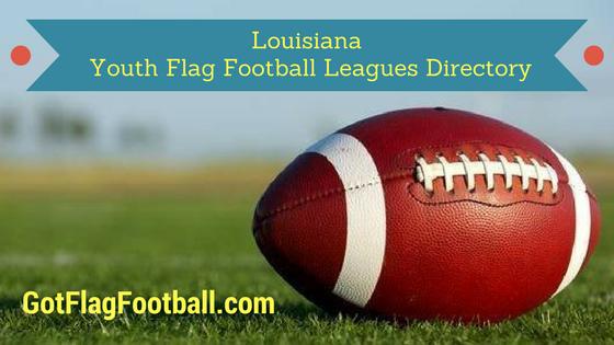 Louisiana Youth Flag Football Leagues Near Me