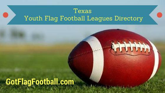 Texas Youth Flag Football Leagues Near Me