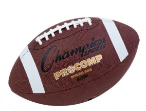 Champion Sports Official Size Composite Football Review