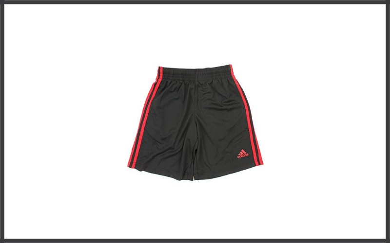 Adidas Big Boys Youth 3 Stripe Mesh Performance Shorts Review