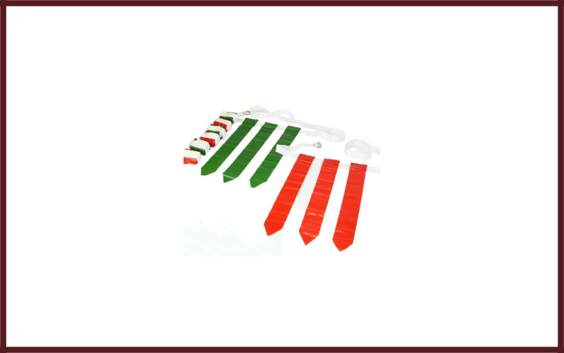 WYZworks 36 Flags & 12 Belts – Velcro Flag Football Set – 18 Red Flags & 18 Green Flags Review
